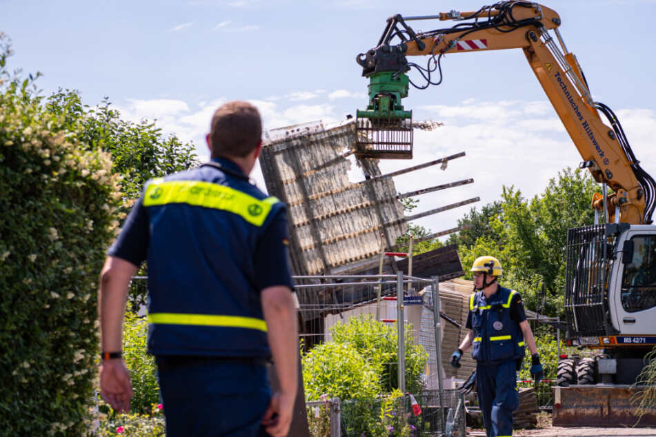 Tatort im Missbrauchsfall Münster: Gartenlaube von Verdächtigem abgerissen