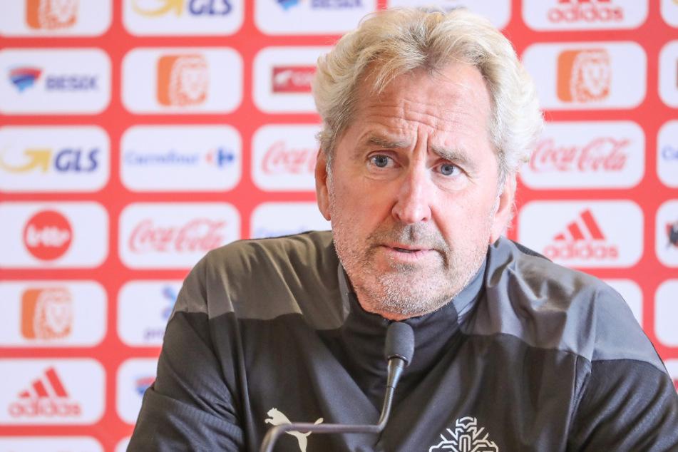 Nationaltrainer Erik Hamrén (63) ist derzeit in Corona-Quarantäne.