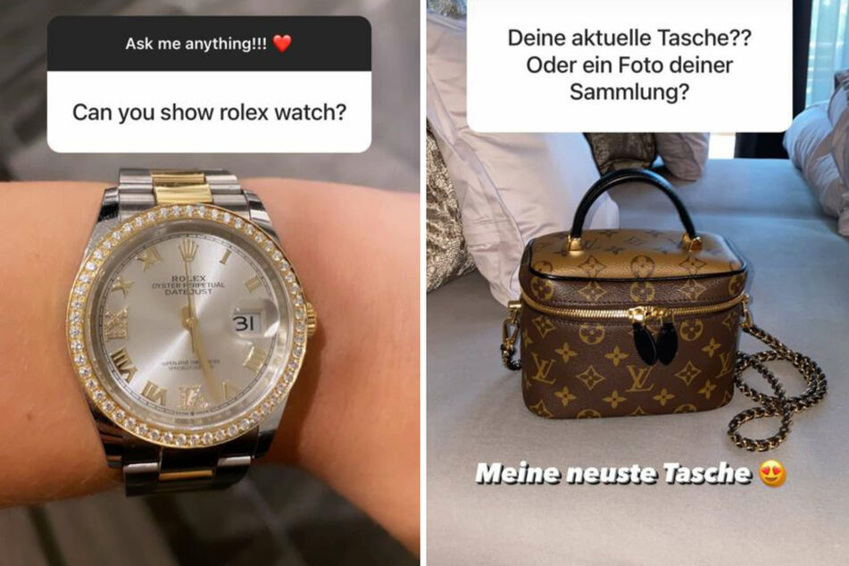 Davina Geiss (18) ist mit 18 Jahren schon Besitzerin einer wertvollen Rolex-Uhr.
