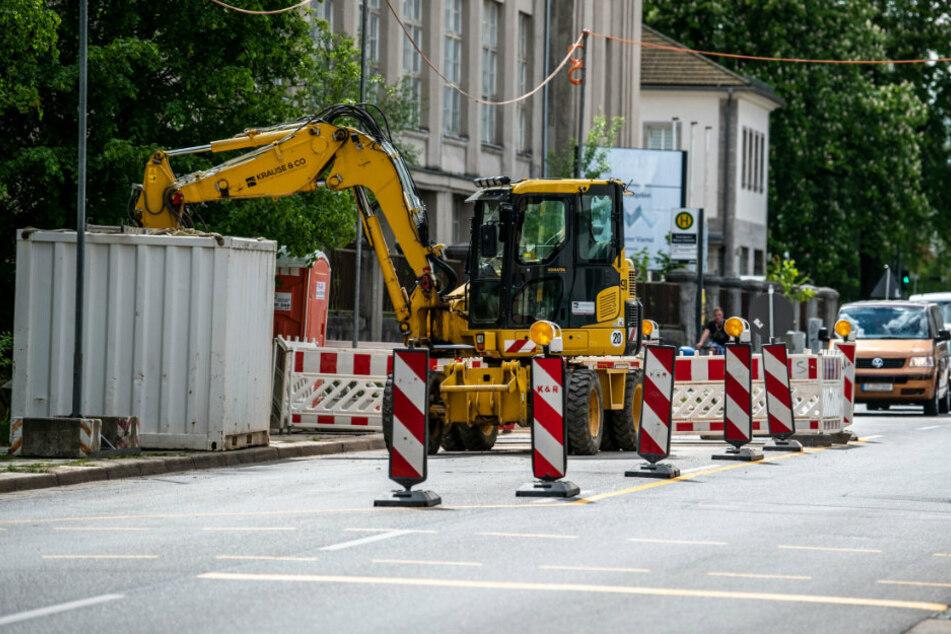 Sechs neue Vollsperrungen: Das kommt auf Autofahrer in Chemnitz zu