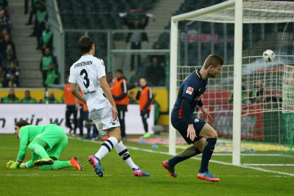 Werner traf zum 0:2.