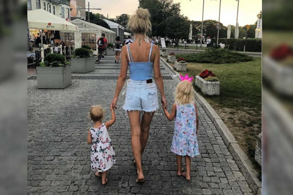 Am nächsten Tag war der ganze Stress vergessen und die kleine Familie ließ es sich im Urlaub endlich gut gehen.