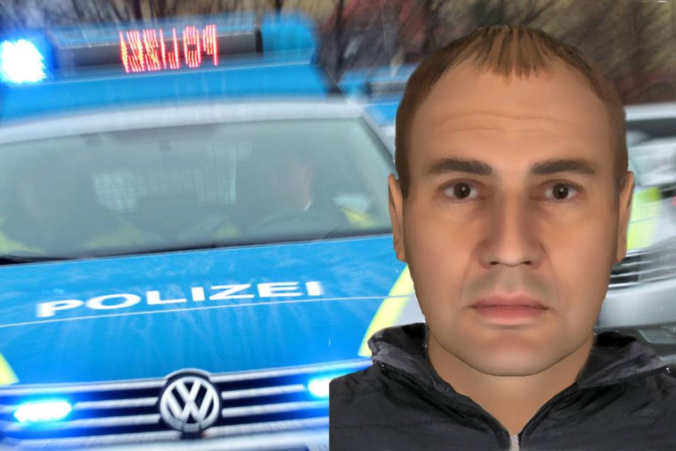 Die Polizei fragt: Wer kennt diesen Mann und kann Angaben zu seinem Aufenthaltsort machen?