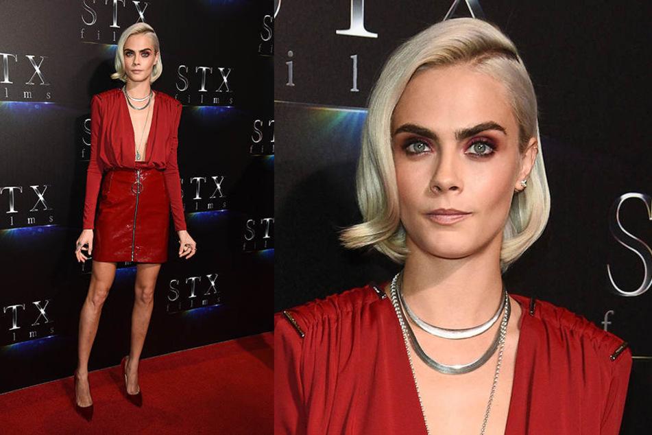 Nein Supermodel Cara Delevingne Trennt Sich Von Ihren Haaren