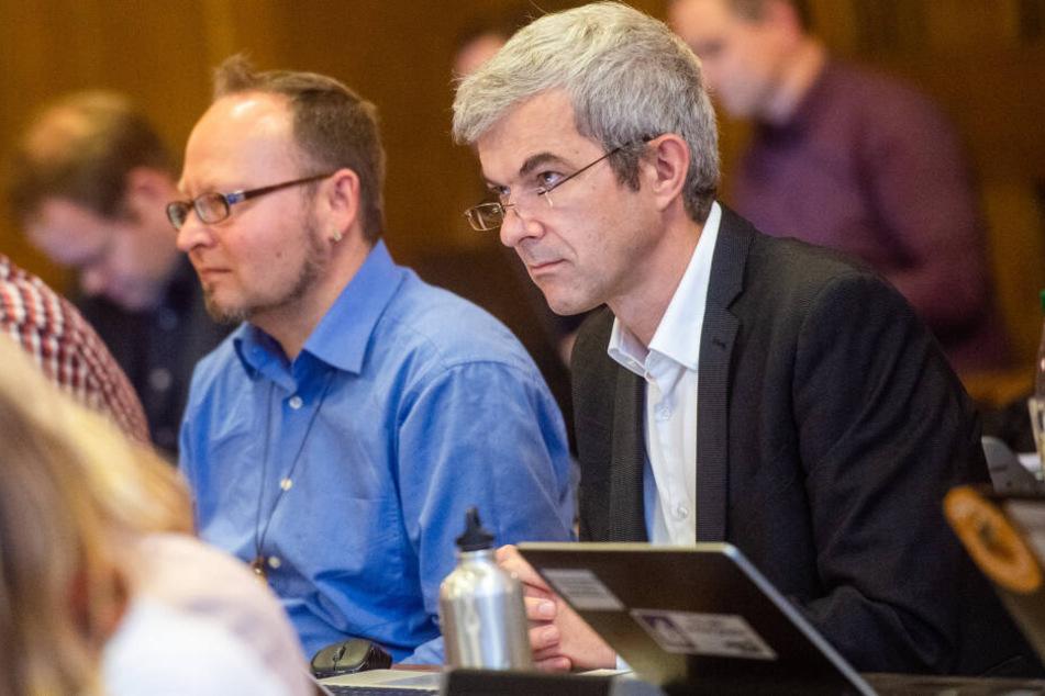 Volkmar Zschocke ist auch Mitglied des Chemnitzer Stadtrats.
