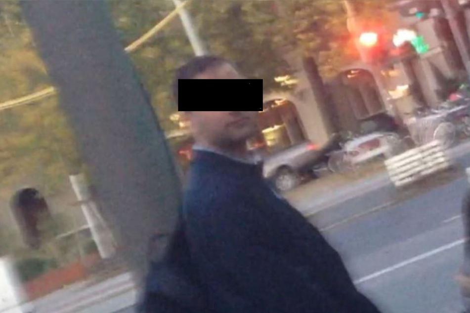 Mit diesem Foto wird nach dem Sexualstraftäter gesucht.