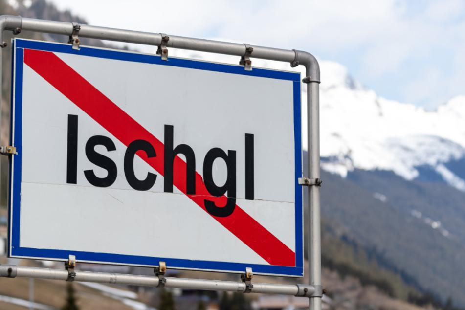 Das Ortsausgangsschild des Österreichischen Wintersportorts.