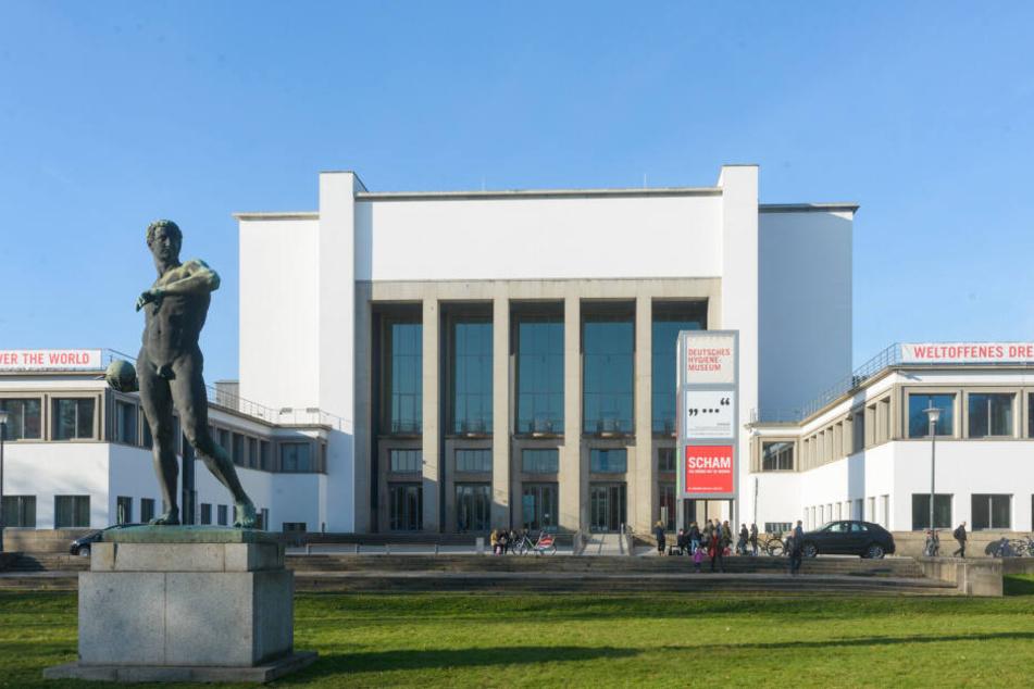 Das Hygienemuseum in der Pirnaischen Vorstadt.