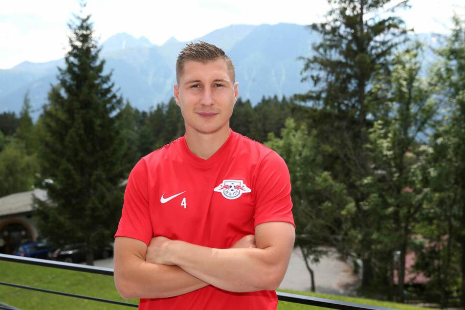 Sieht sein Team gewappnet für die Pokalhürde Osnabrück: RB Leipzigs neuer, alter Kapitän Willi Orban (26).