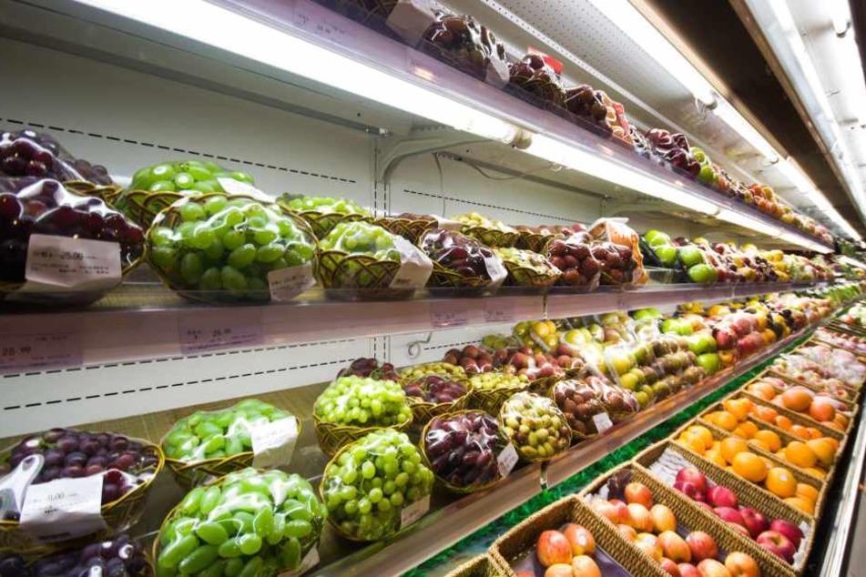 Was war faul am Obst- und Gemüseregal? (Symbolbild).
