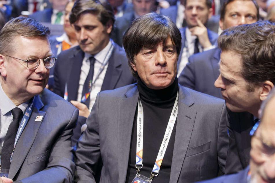 """Löw hat sich für die Nations League """"starke Gegner"""" gewünscht."""