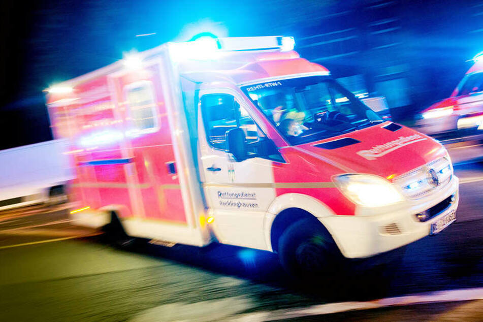 In Zittau wurde eine Achtjährige bei einem Unfall schwer verletzt.