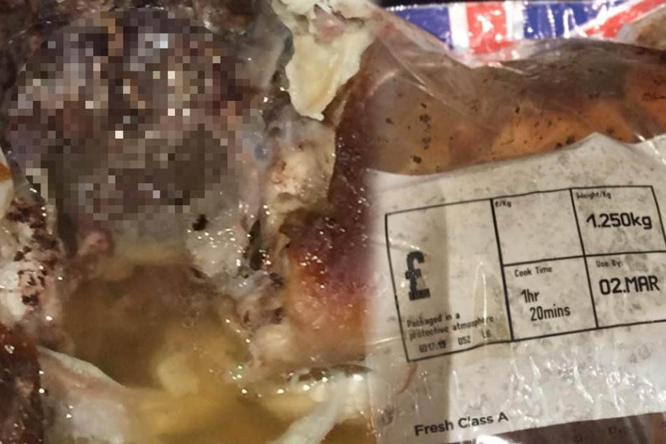 Ekelalarm! Das fand eine 14-Jährige in ihrem Brathähnchen