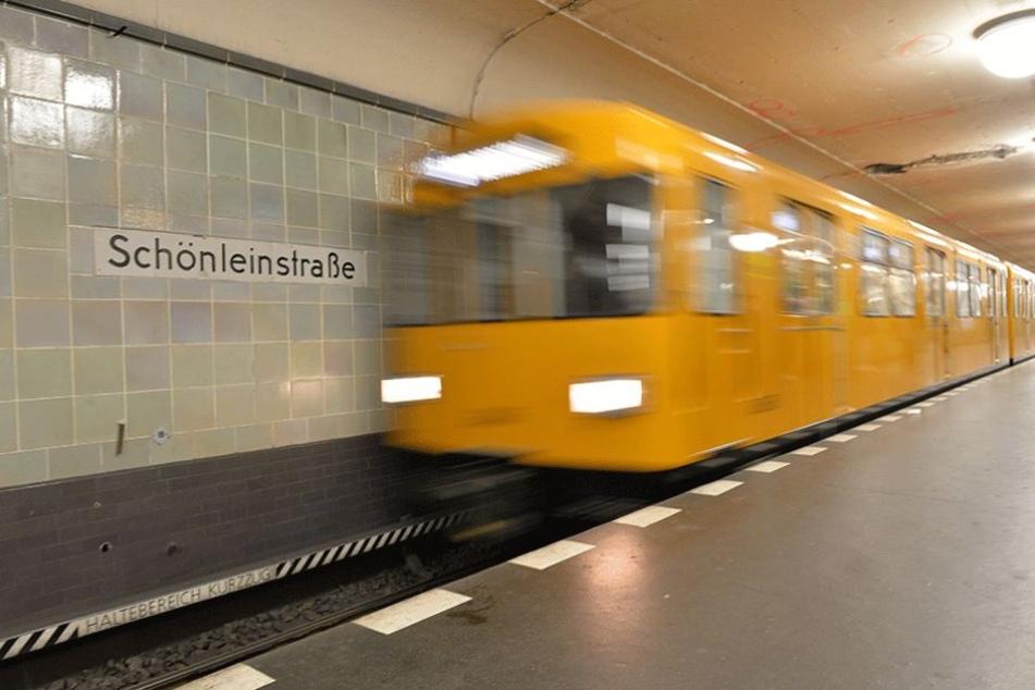 Um U-Bahnhof Schönleinstraße geschah das Verbrechen.