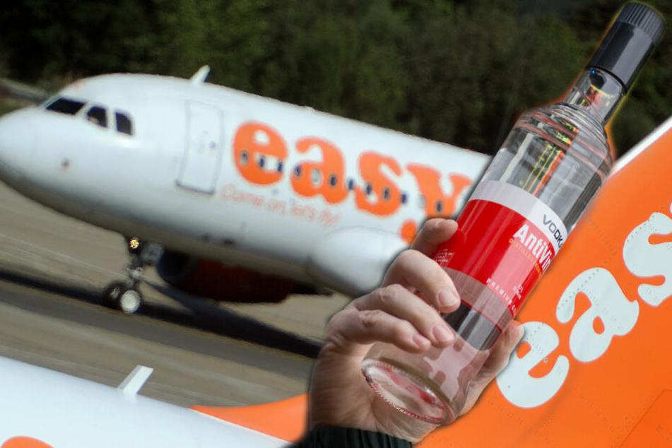 Nach Vodka-Eskapade: Mutter bewusstlos im Flugzeug, Kinder müssen es mit ansehen!