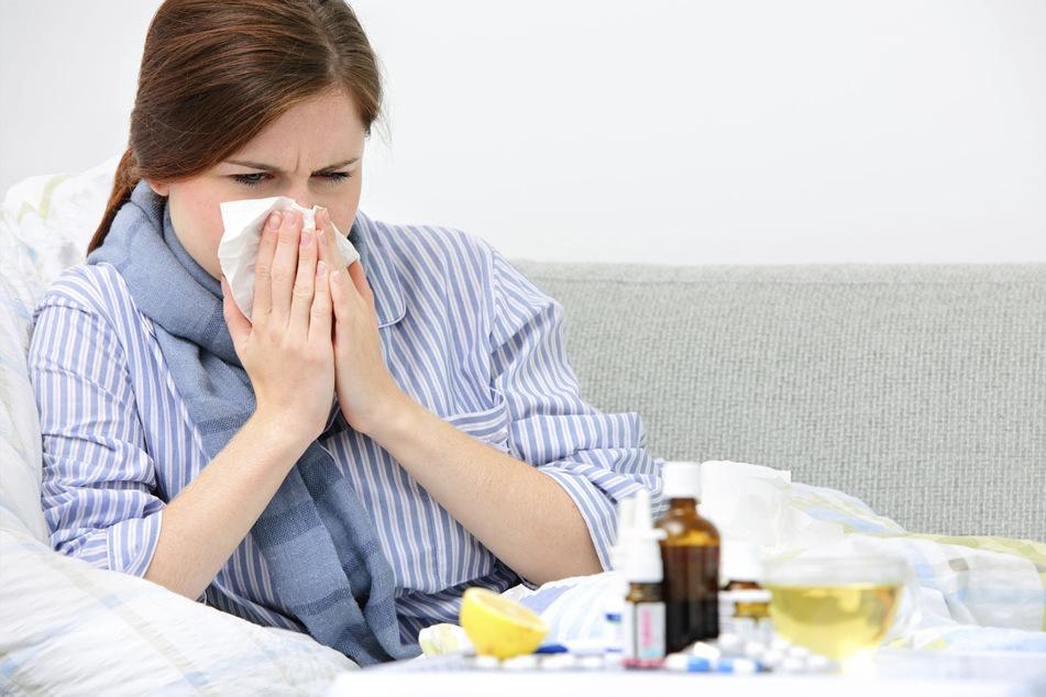 Die Zahl der Grippefälle ist in dieser Saison in Sachsen um 45 Prozent zurückgegangen. Dazu haben sicher auch die Corona-Schutzmaßnahmen beigetragen.
