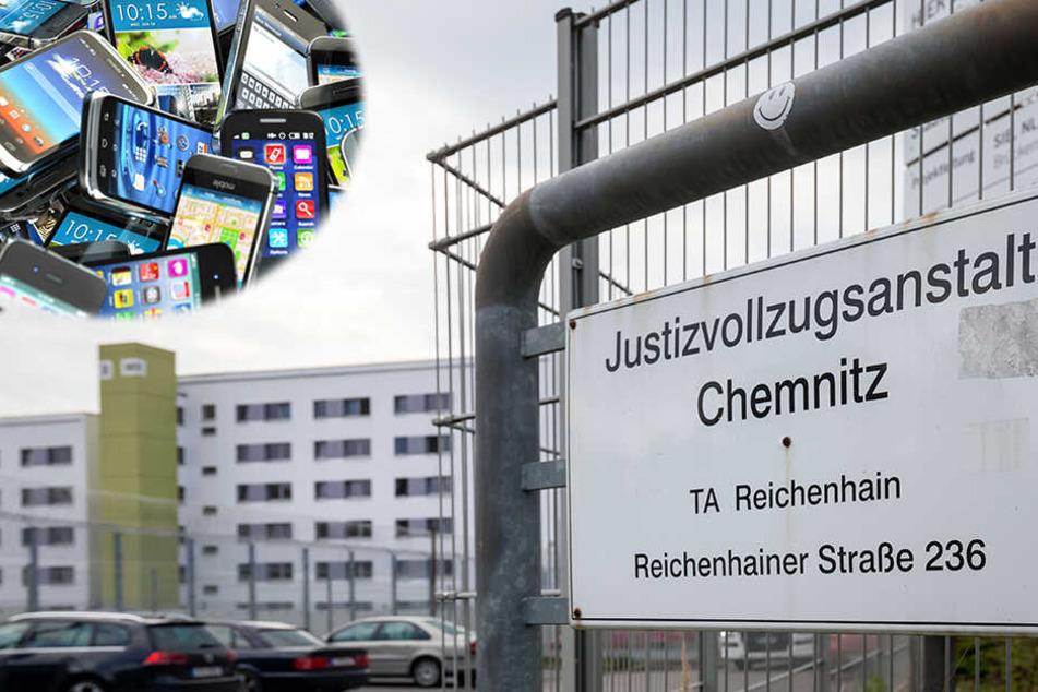 Chemnitz: Schmuggelware sichergestellt: Kein Mangel an Handys im Knast