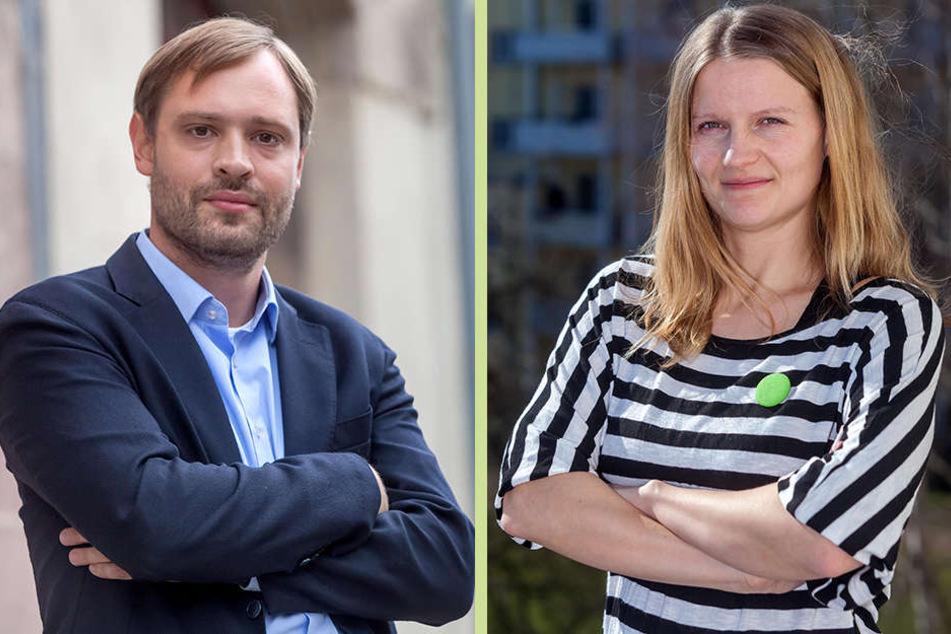Die Stadträte Alexander Dierks (CDU) und Christin Furtenbacher (Grüne) wollen sich für das Angebot einsetzen.