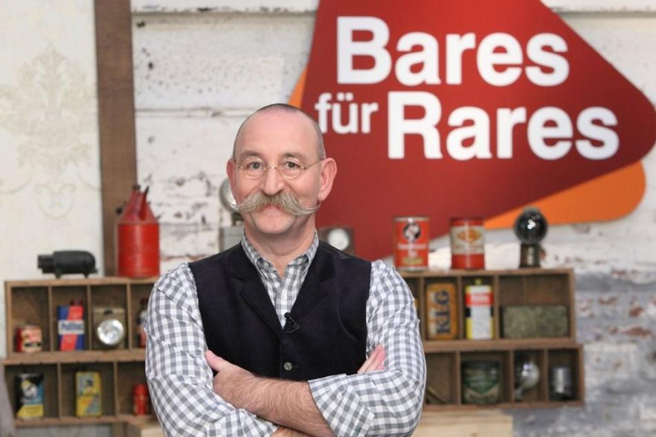 """Horst Lichter (56) erreicht mit seiner Sendung """"Bares für Rares"""" Millionen Zuschauer"""