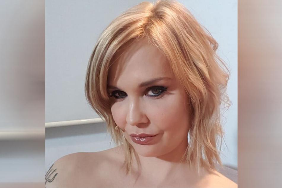"""Die """"Queen of Porn"""" auf einem Selfie."""