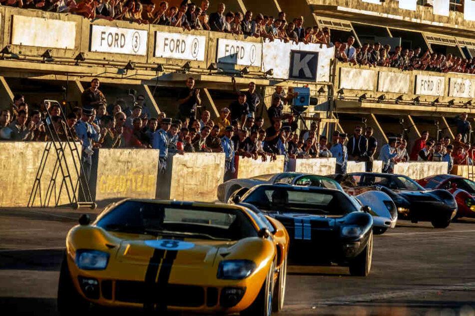 Die Autorennen sind dynamisch und mitreißend inszeniert.