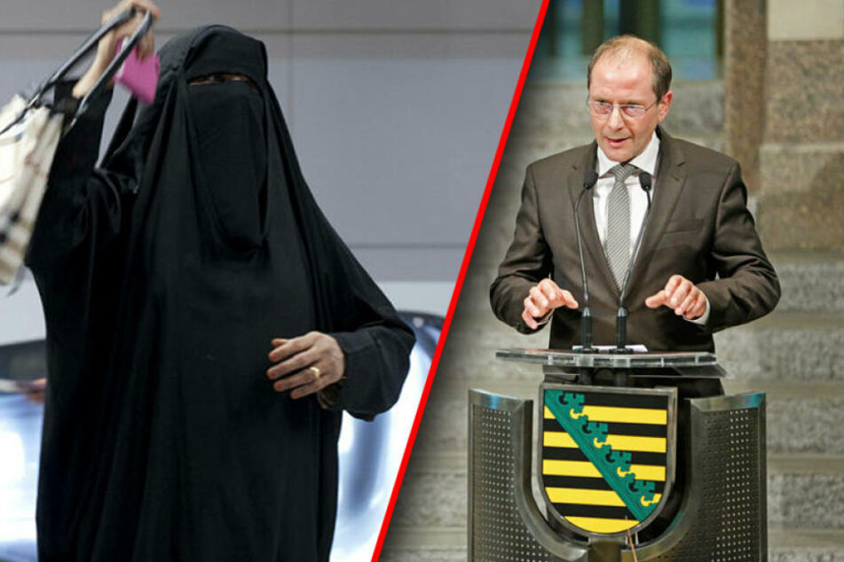 Innenminister Ulbig plant Burka-Verbot in Sachsen