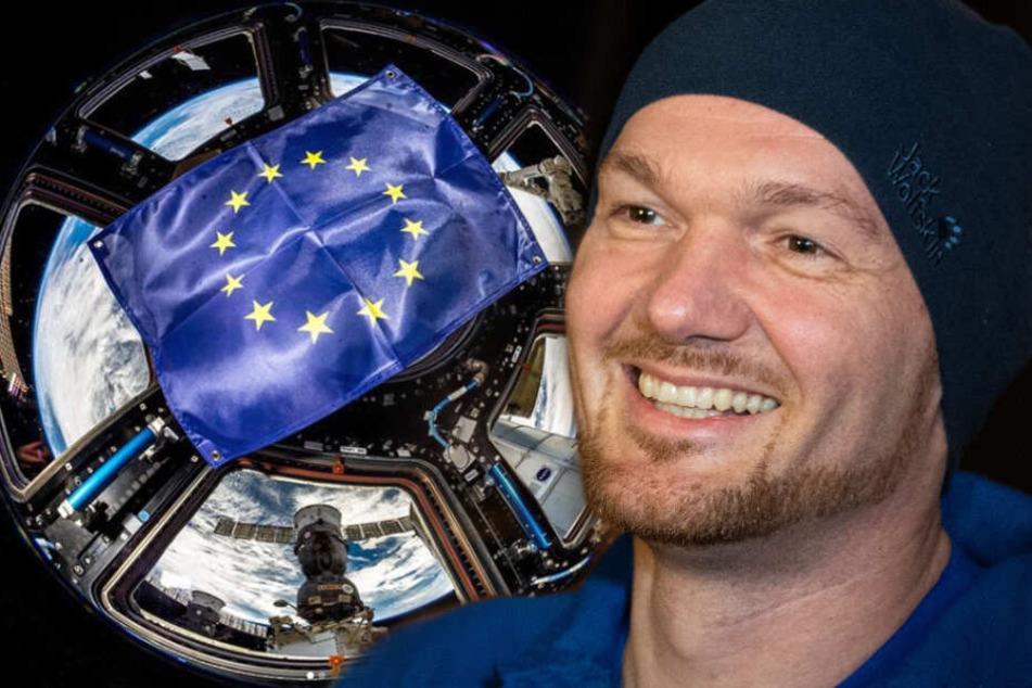 Für den Astronauten Alexander Gerst ist das Friedensprojekt Europa wichtiger denn je.