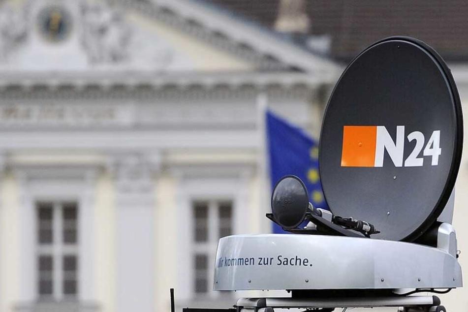 Das N24 Logo wird ab 2018 nicht mehr zu sehen sein.