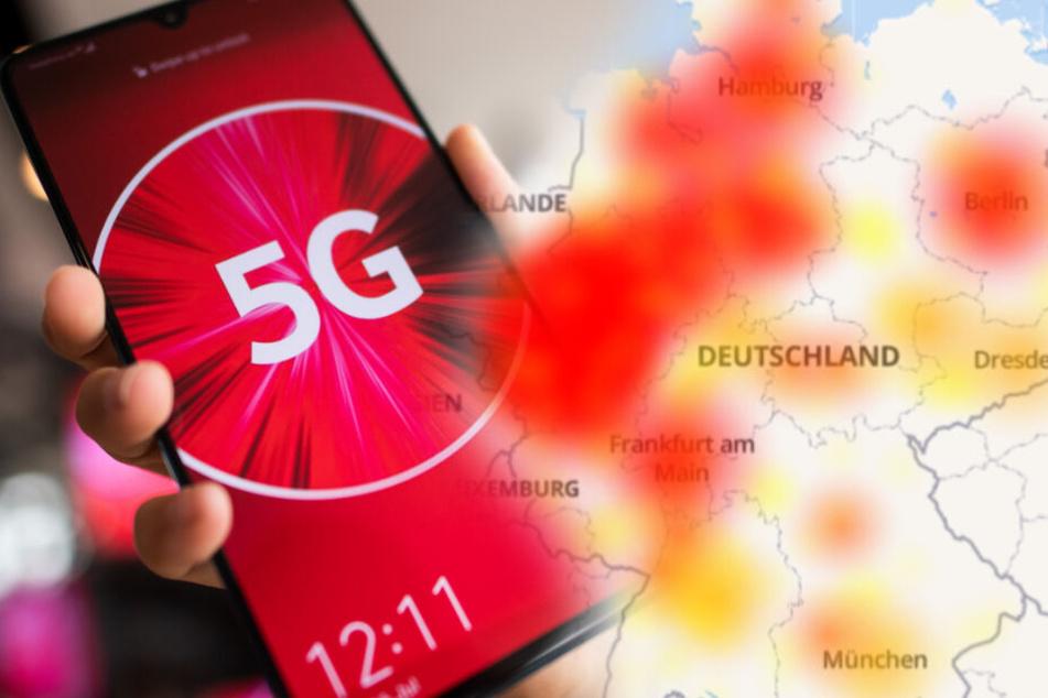 Deutschlandweite Störungen bei Vodafone, Netflix und Co.