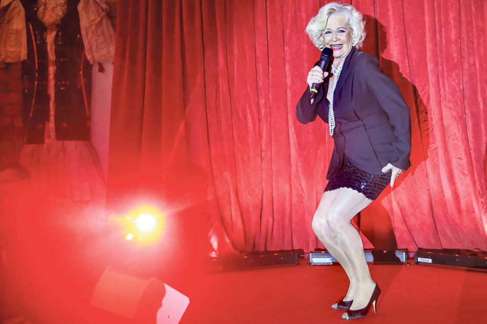 Mit 74! Dorit Gäbler will endlich Durchbruch - mit Schlagern