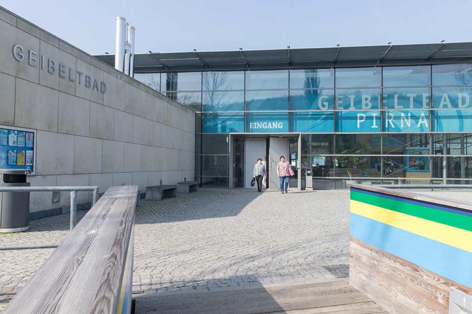 Im Pirnaer Geibeltbad kam es zu der sexuellen Belästigung der drei Mädchen.