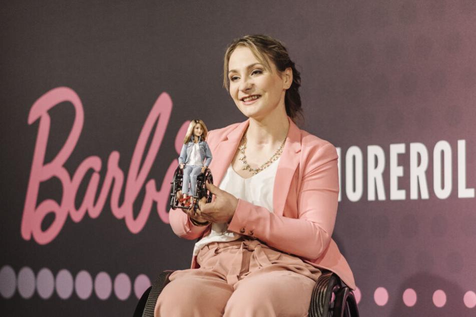 Inzwischen gibt es auch eine Barbie-Puppe von der sympathischen Sportlerin