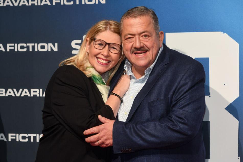 Joseph Hannesschläger, Schauspieler, und seine Frau Bettina.