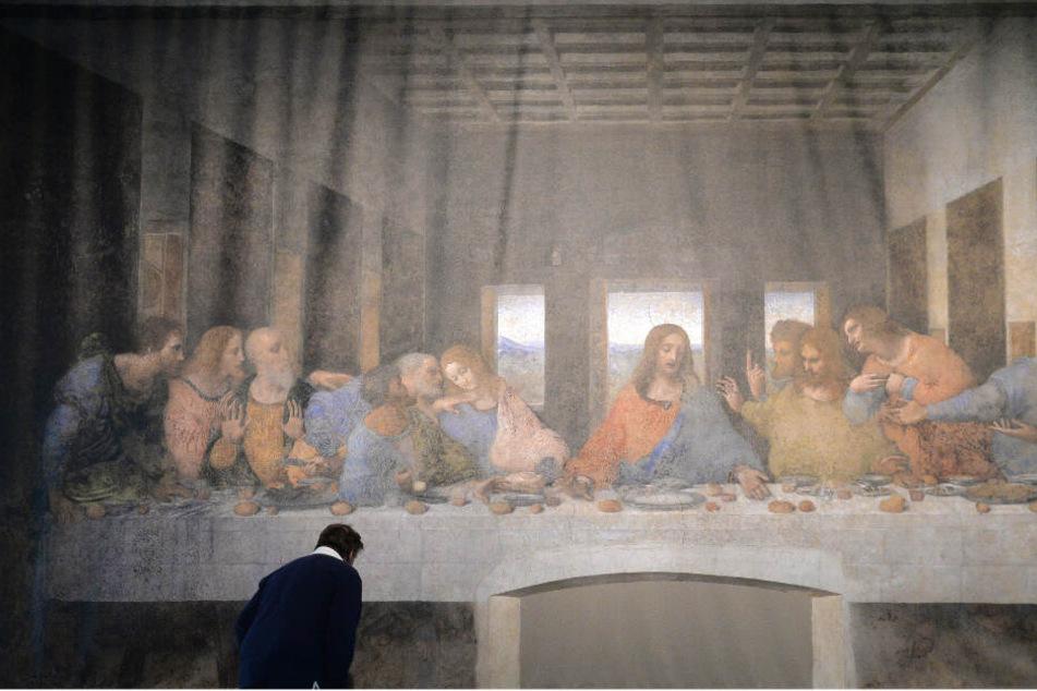 """Da Vincis Meisterwerk """"Abendmahl"""" wird lebendig"""