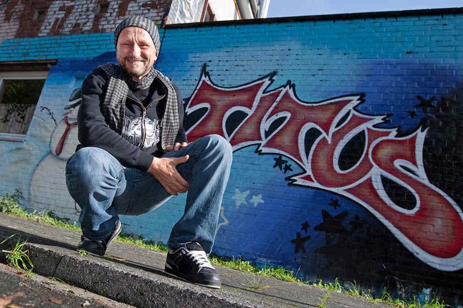 """Titus Dittmann (68) führte das erfolgreiche Label """"Titus"""" auf dem Skateboard-Markt ein."""