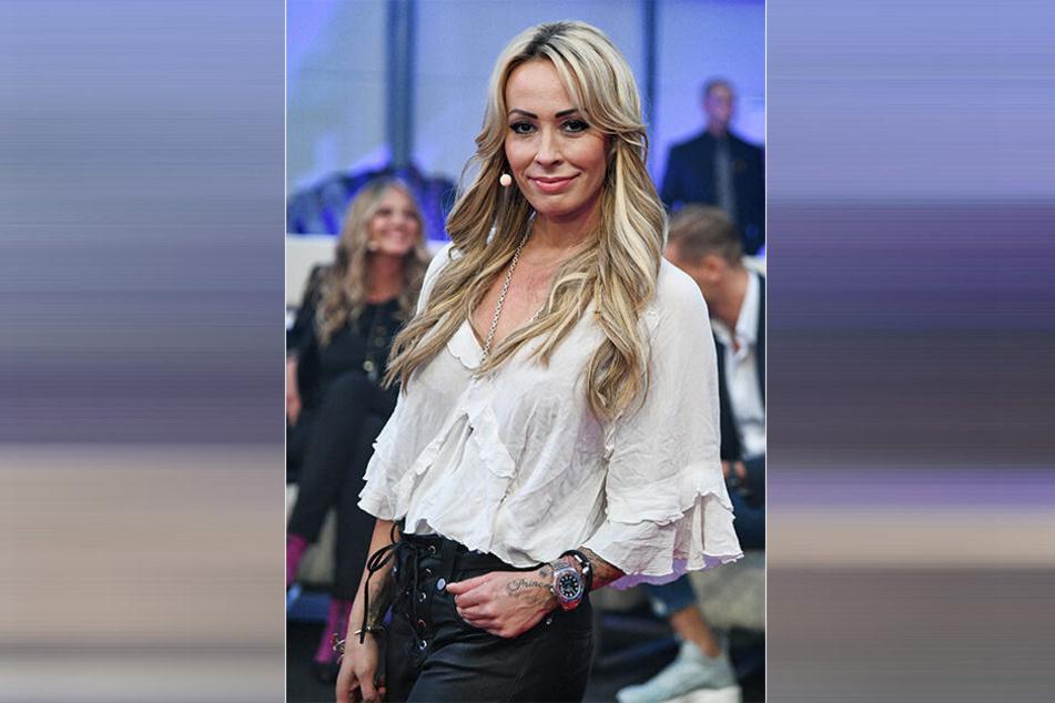 """Cora Schumacher, Ex-Rennfahrerin, 2018 bei der Sat.1 Show """"Promi Big Brother""""."""
