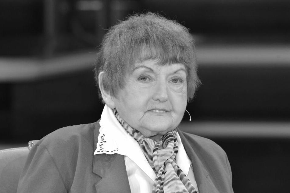 """Eva Kor 2015 während der ARD-Talksendung """"Günther Jauch""""."""