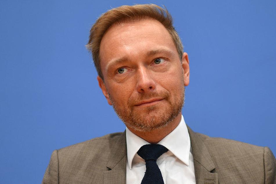 Christian Lindner möchte zwischen CDU und Grünen platziert werden.