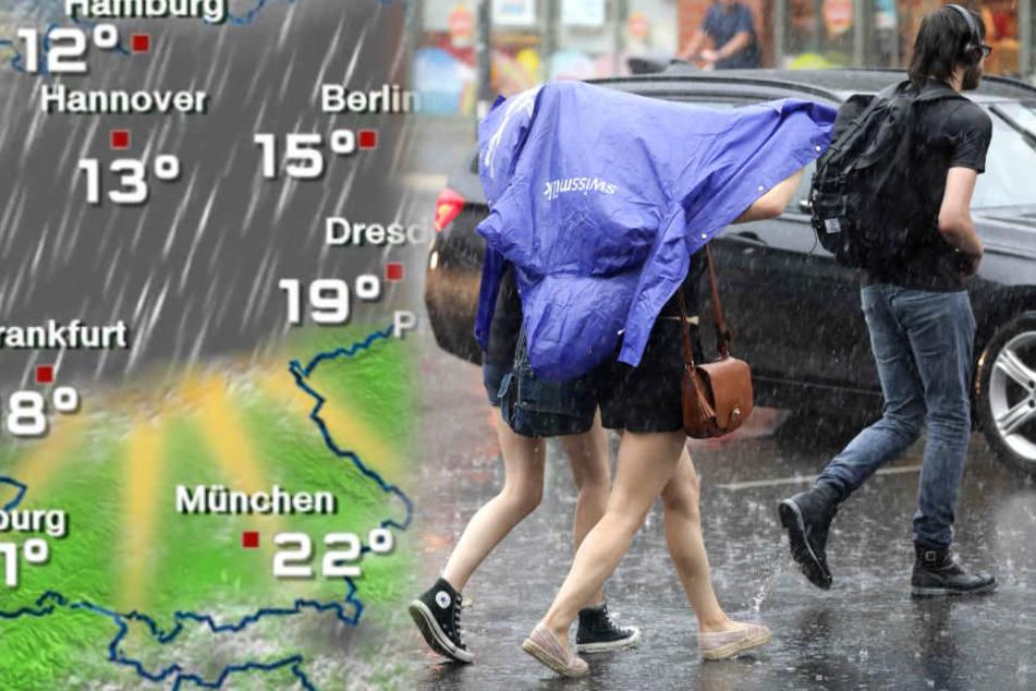Unwetter drohen: Fällt der 1. Mai ins Wasser?