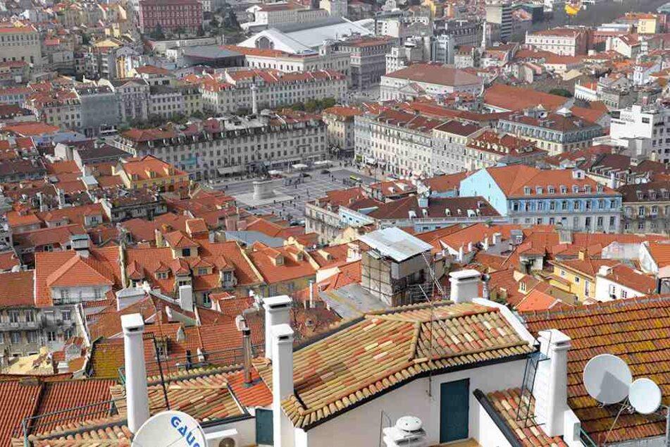 In Lissabon kam es zu einer heftigen Gas-Explosion.