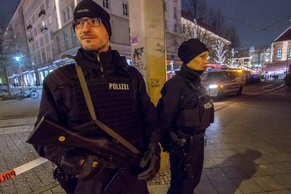 Im letzten Jahr setzte man zusätzlich auf schwer bewaffnete Polizisten.