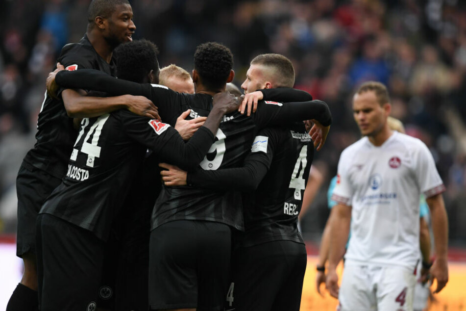 Der Sieg gegen Nürnberg war für die Eintracht das 13. Spiel ohne Niederlage in Serie.