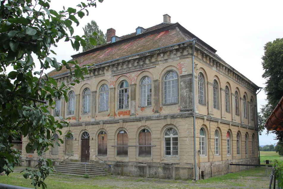 Das denkmalgeschützte Schloss Übigau verfällt seit Jahren.