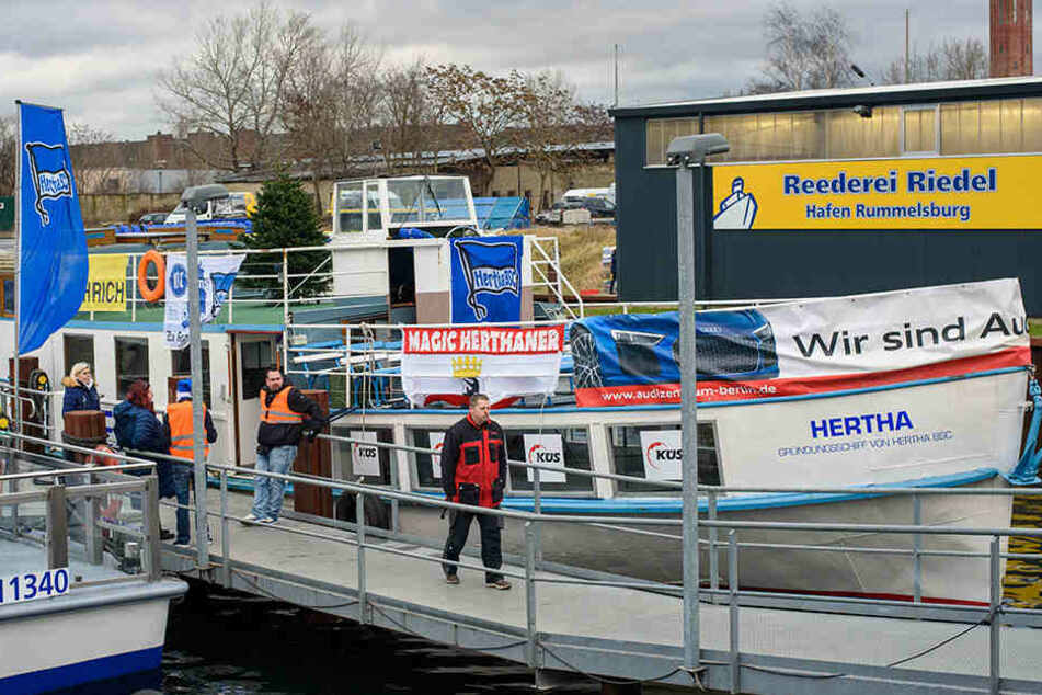 Das Gründungsschiff von Bundesligist Hertha BSC ist wieder in Berlin.