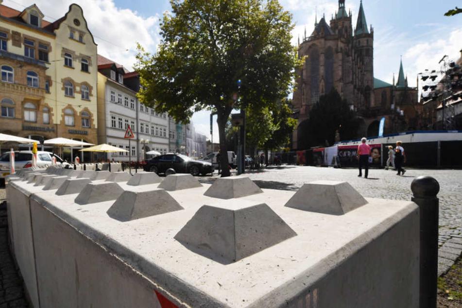 Die Nizza-Sperren sollen bald aus dem städtischen Bild verschwinden.