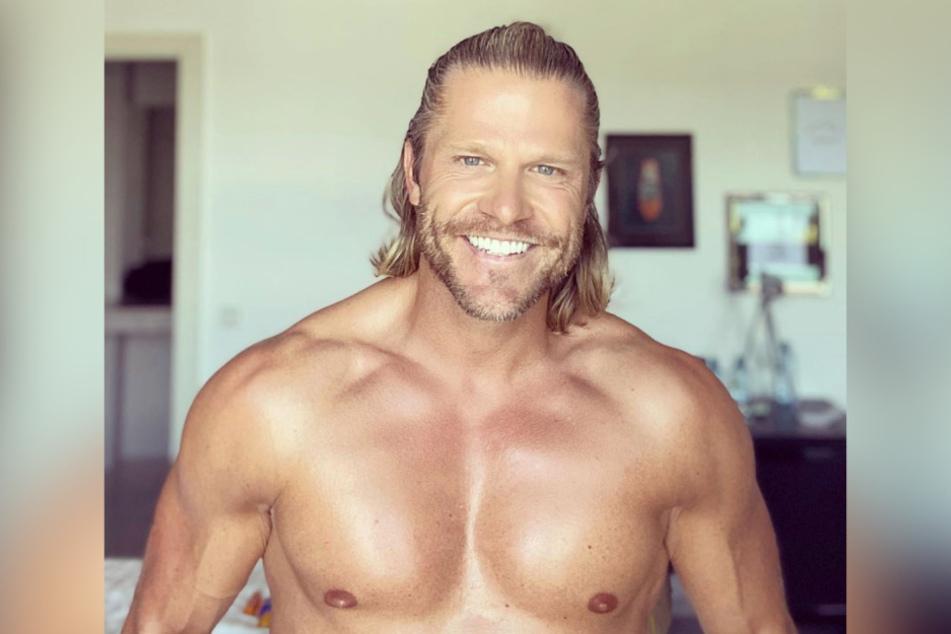 Auf Instagram zeigt Paul Janke seine Muskeln.
