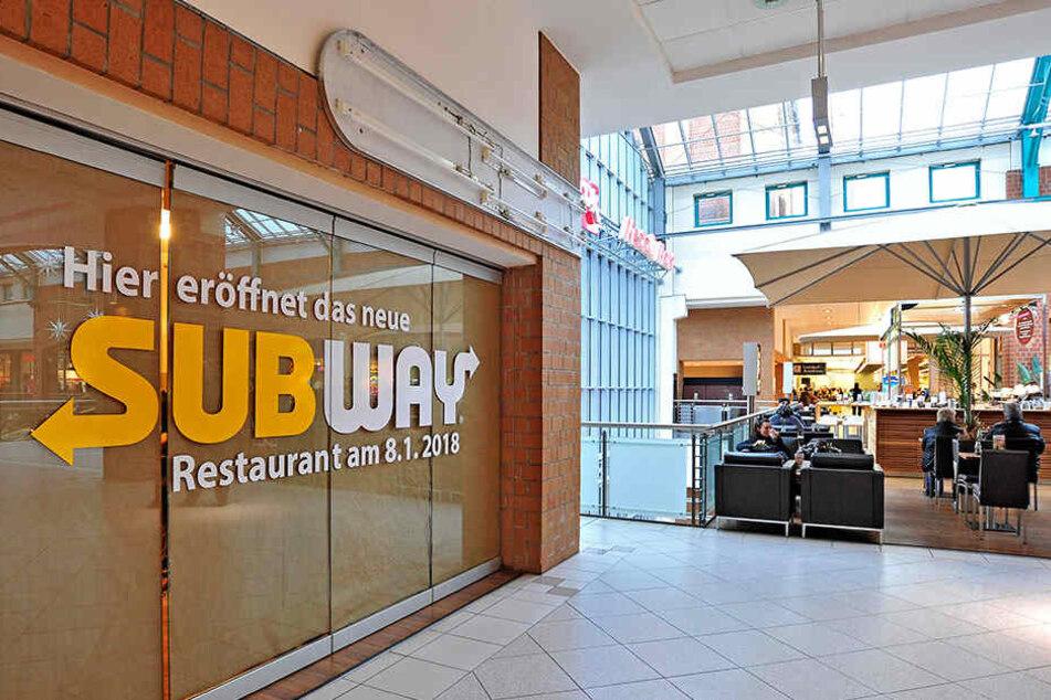 """Mit einer neuen Subway-Filiale geht das Vorhaben """"Food Lounge"""" an den Start."""