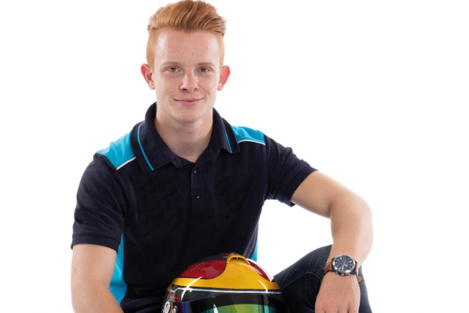 Seine Familie ist bei vielen Rennen mit dabei. Das große Ziel von Rennfahrer Jonas Greif (18) aus Coswig ist die Deutsche Tourenwagen-Masters DTM.