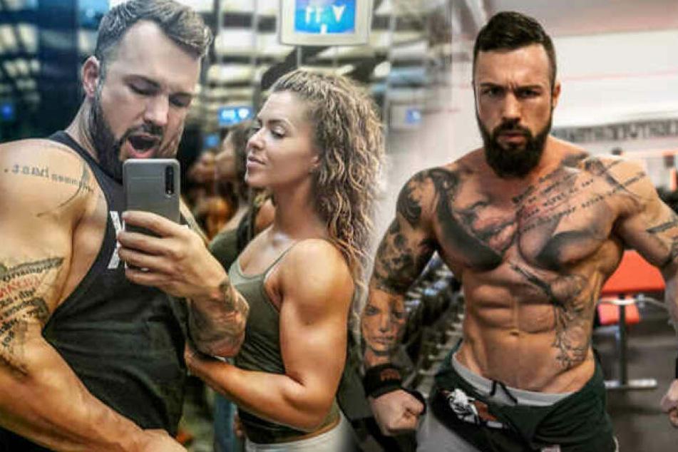 Bei Instagram liegt das Augenmerk normalerweise auf den Muskeln von Jil und Freundin Artie.