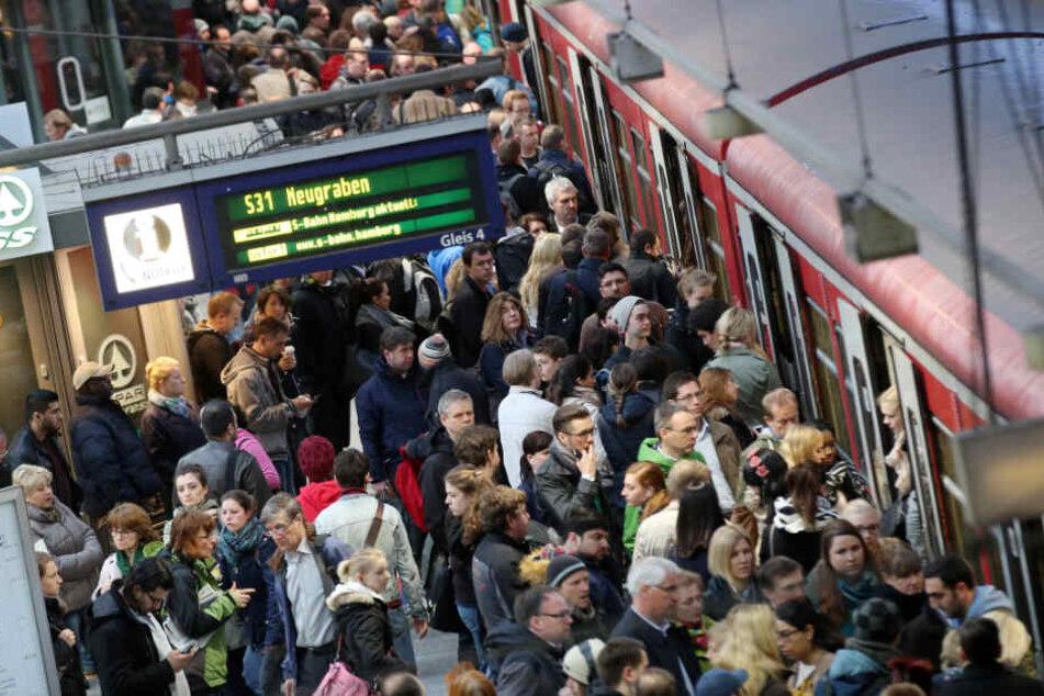 Die Sperrung wird den S-Bahn-Verkehr in Hamburg ordentlich durcheinanderbringen. (Symbolbild)